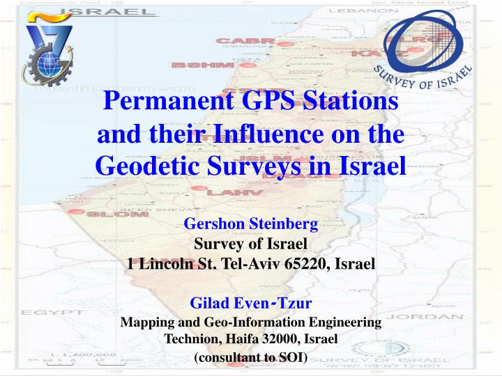 Permanent GPS Stations