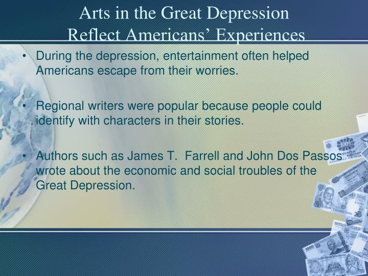 Arts in the Great Depression