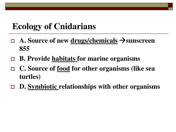 Ecology of Cnidarians