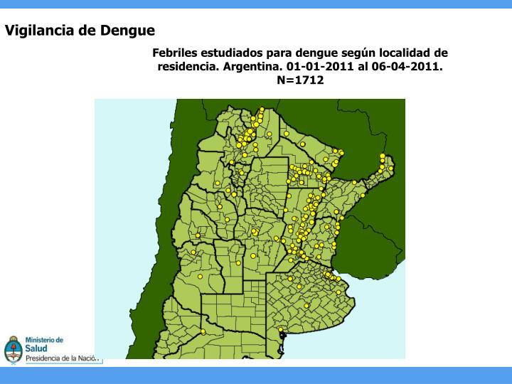 Vigilancia de Dengue