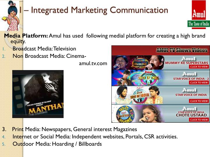 Amul – Integrated Marketing Communication