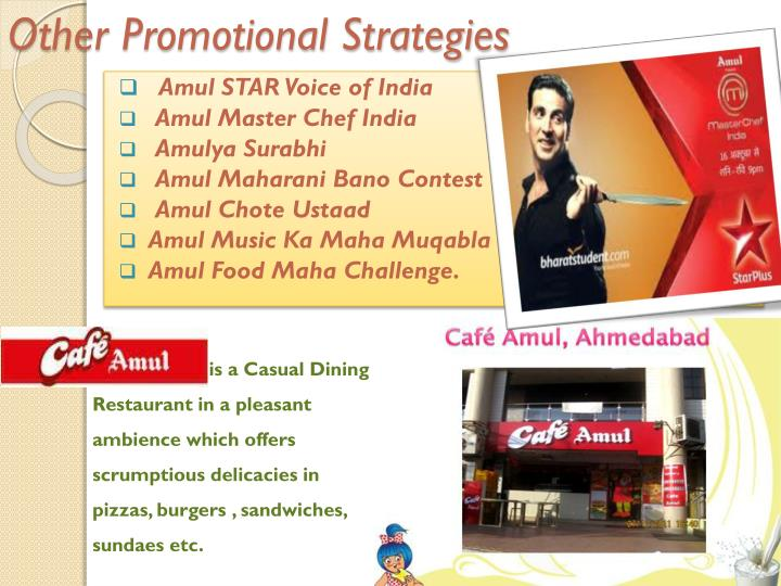 Other Promotional Strategies