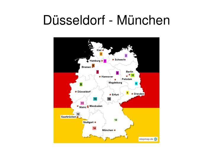 Düsseldorf - München