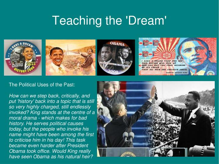 Teaching the 'Dream'