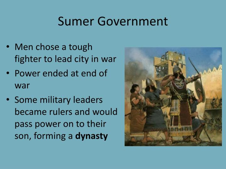 Sumer Government