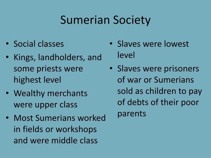 Sumerian Society