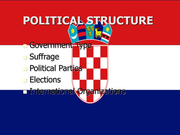 POLITICAL STRUCTURE