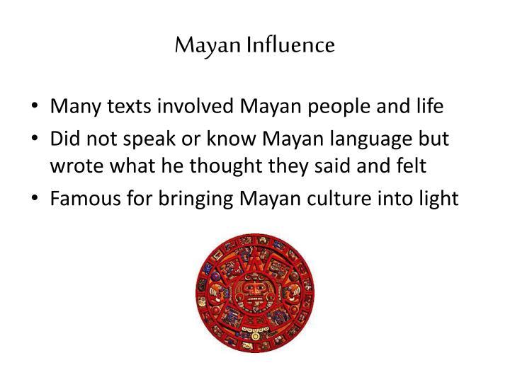 Mayan Influence