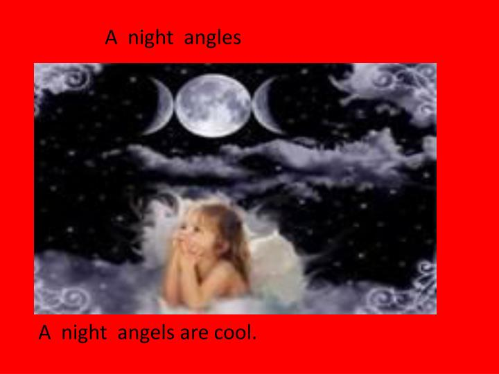 A  night  angles