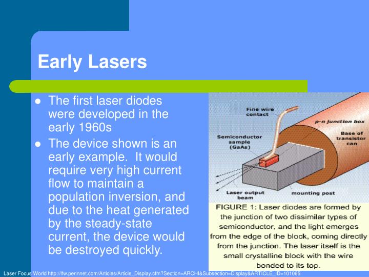 Early Lasers