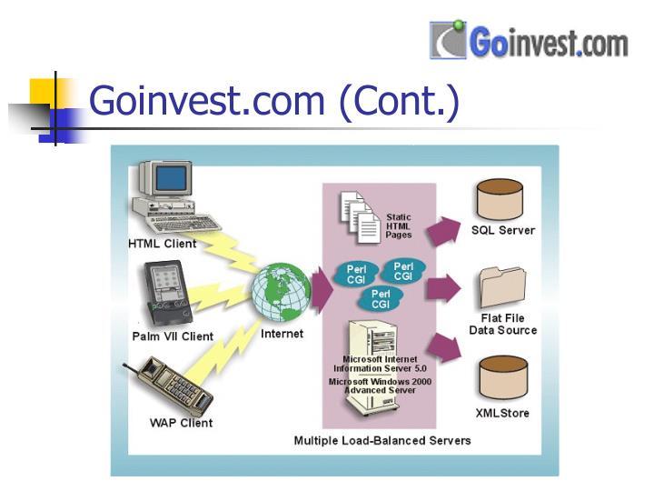 Goinvest.com (Cont.)