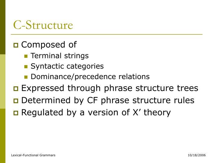 C-Structure