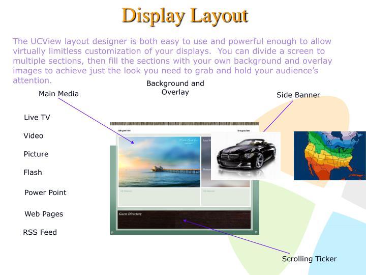 Display Layout
