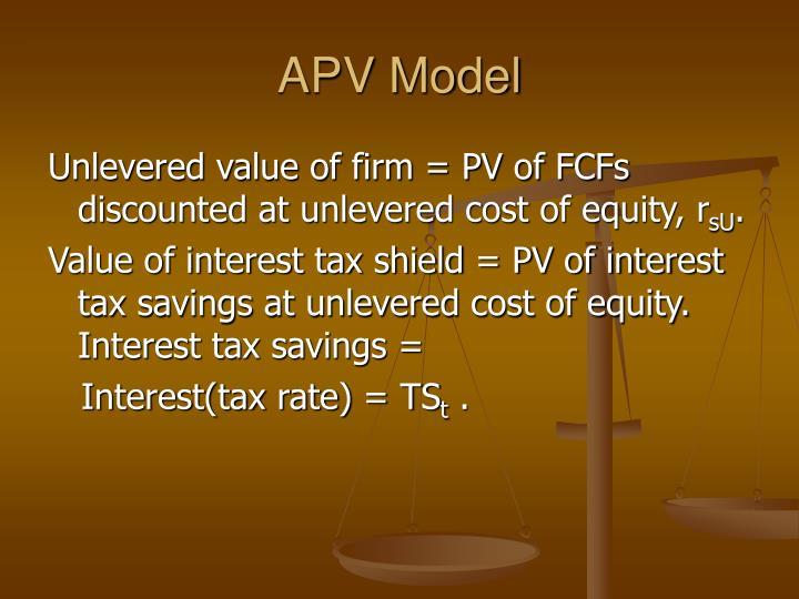 APV Model