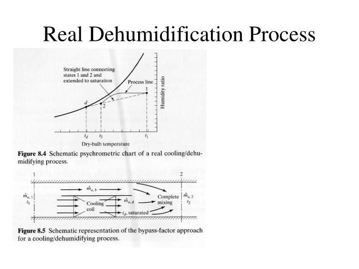 Real Dehumidification Process