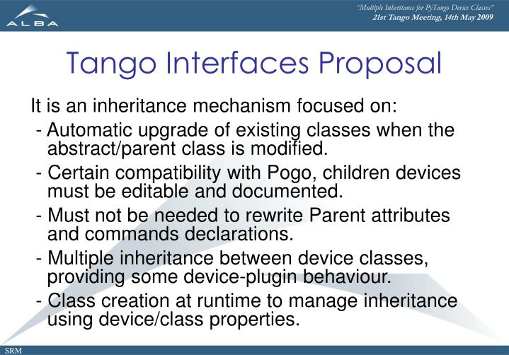 """Multiple Inheritance for PyTango Device Classes"""