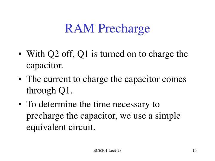 RAM Precharge