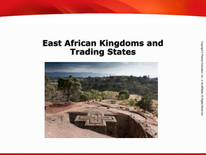 East African Kingdoms and
