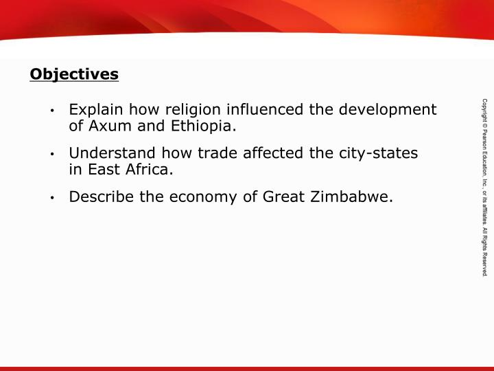 Explain how religion influenced the development of Axum and Ethiopia.