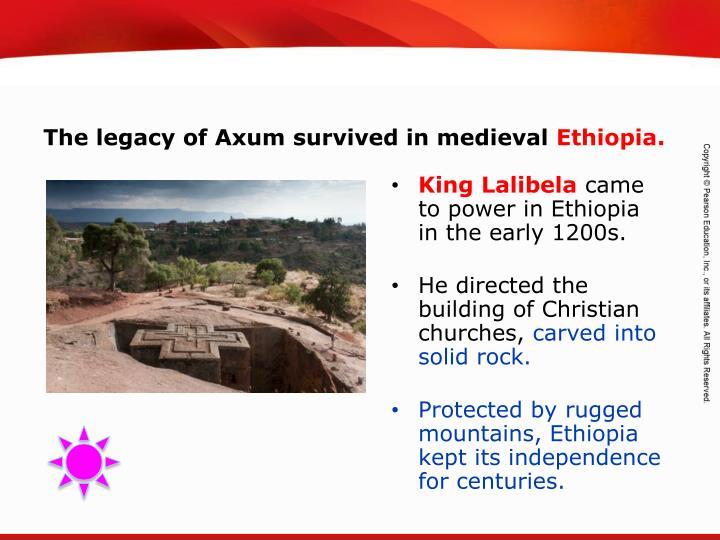 King Lalibela