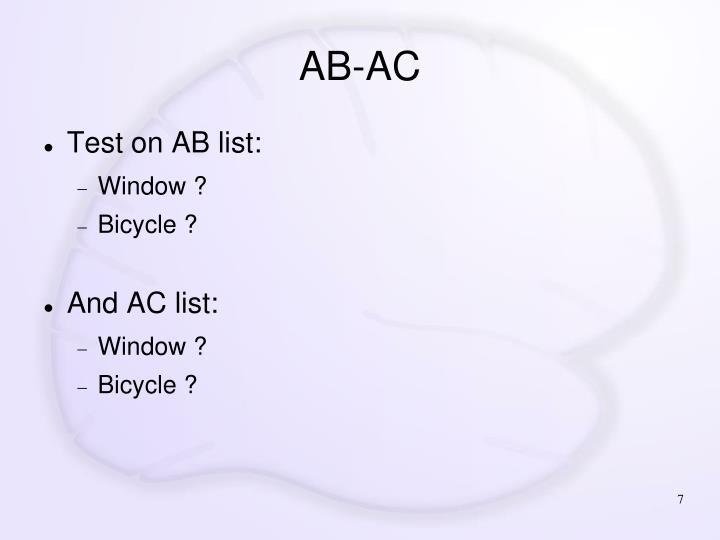 AB-AC