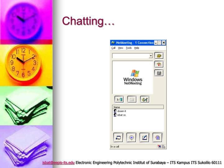 Chatting…