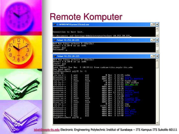 Remote Komputer