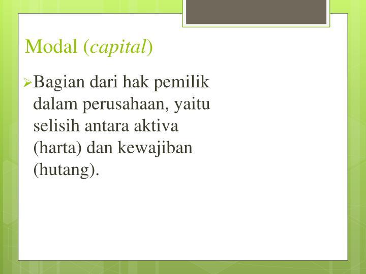 Modal (