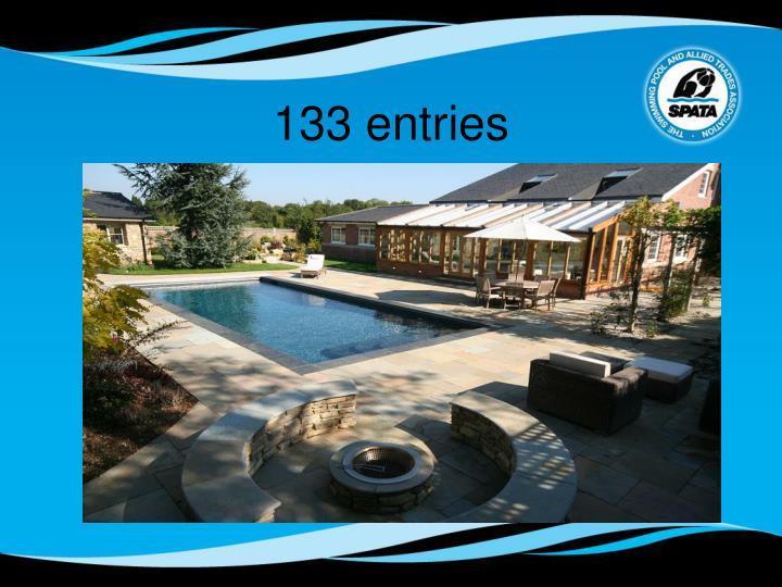 133 entries