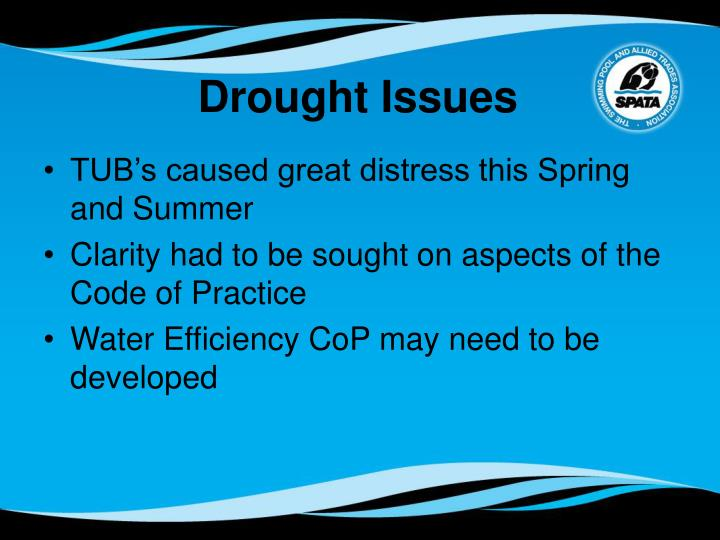 Drought Issues