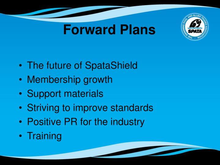 Forward Plans