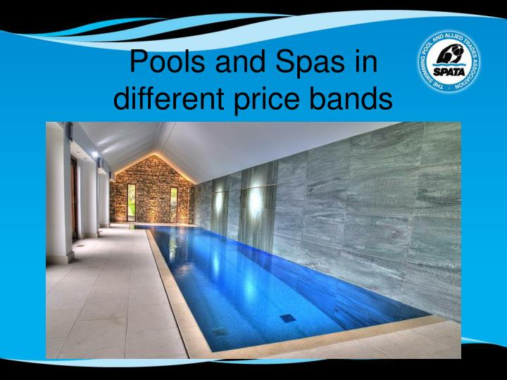 Pools and Spas in