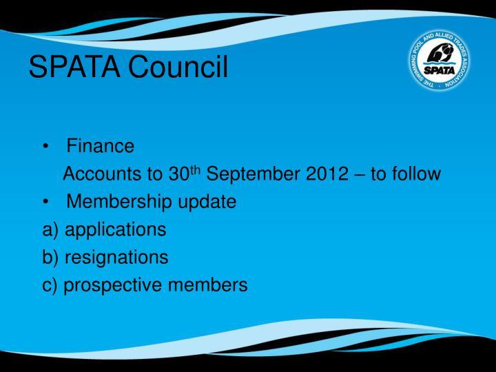SPATA Council