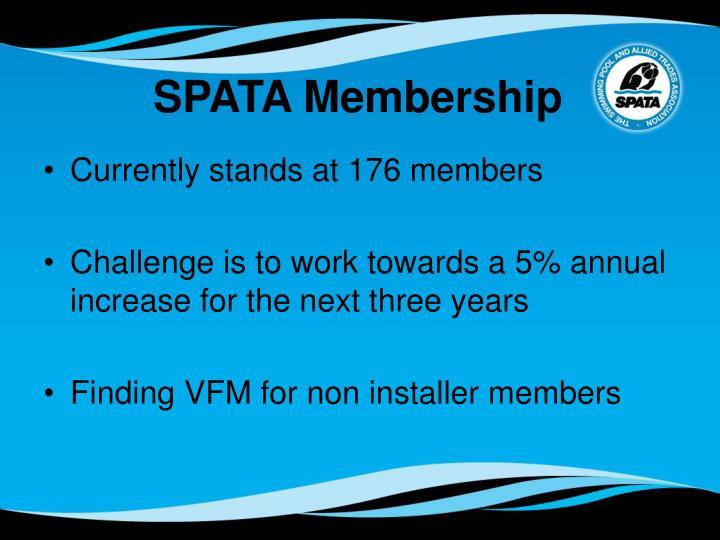 SPATA Membership