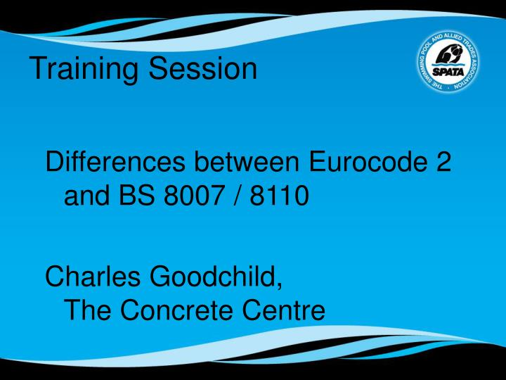 Differences between Eurocode 2 and BS 8007 / 8110