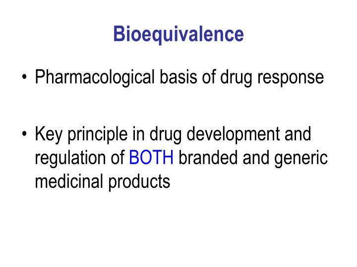 Bioequivalence