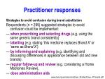practitioner responses1