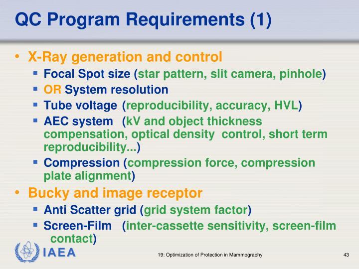 QC Program Requirements (1)