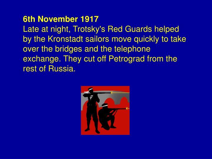 6th November 1917