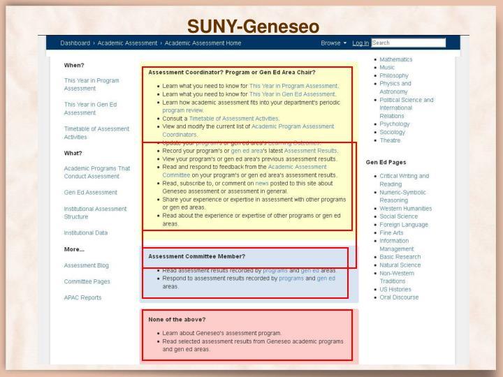 SUNY-Geneseo