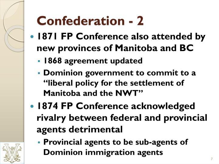 Confederation - 2