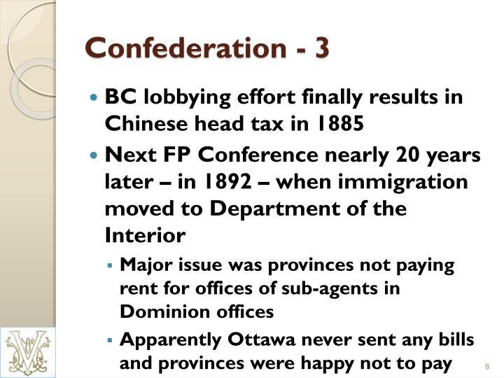 Confederation - 3