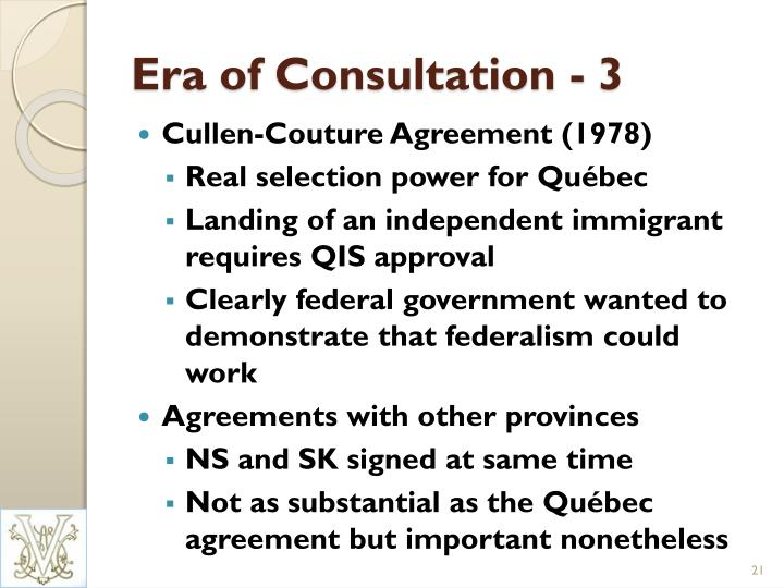 Era of Consultation - 3