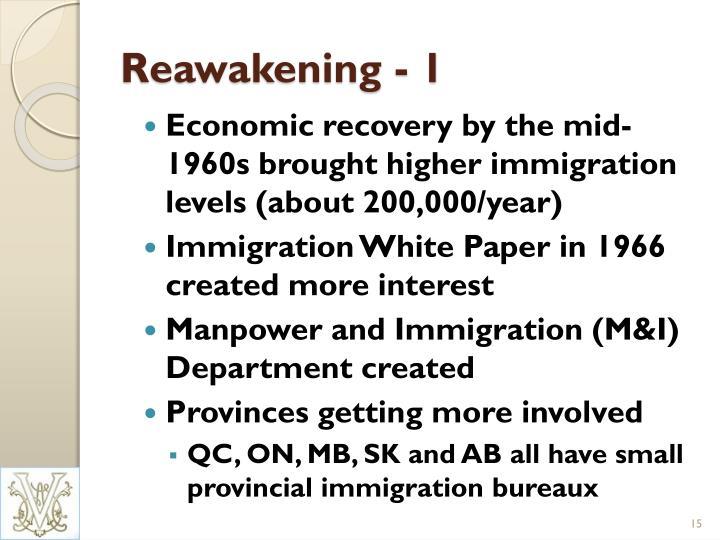 Reawakening - 1