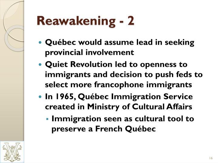Reawakening - 2
