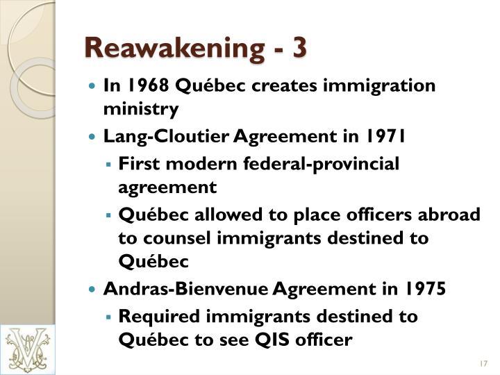 Reawakening - 3