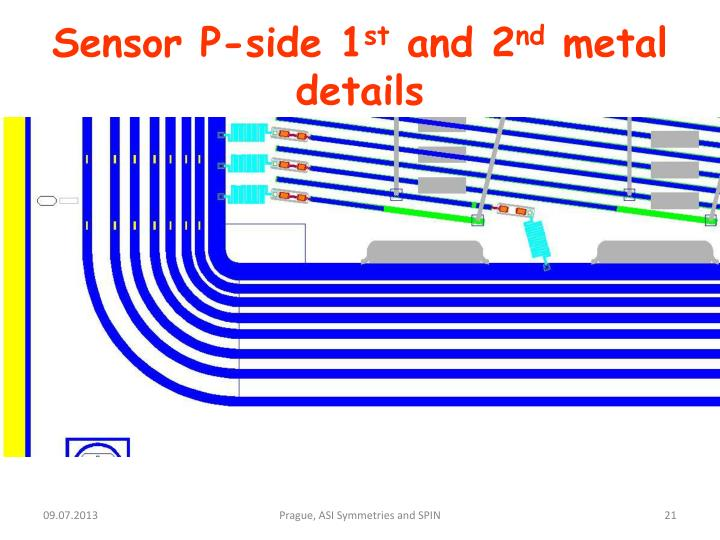 Sensor P-side 1