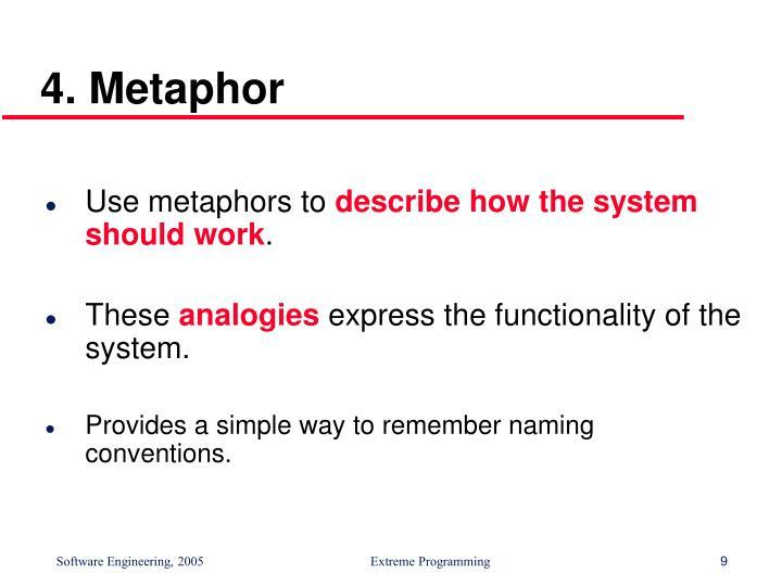 4. Metaphor