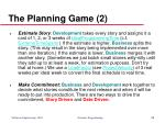 the planning game 2