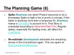 the planning game 6